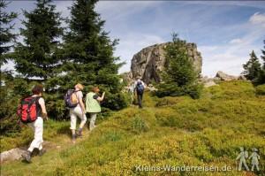 Wandern ohne Gepäck